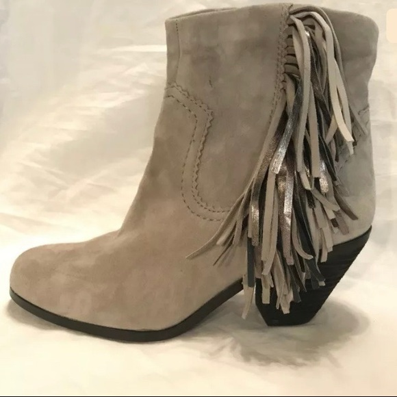 "108477413d310b Sam Edelman ""Louie"" Grey Suede Zip Up Boots 7. M 5c5c5dd00cb5aa363890bc94"